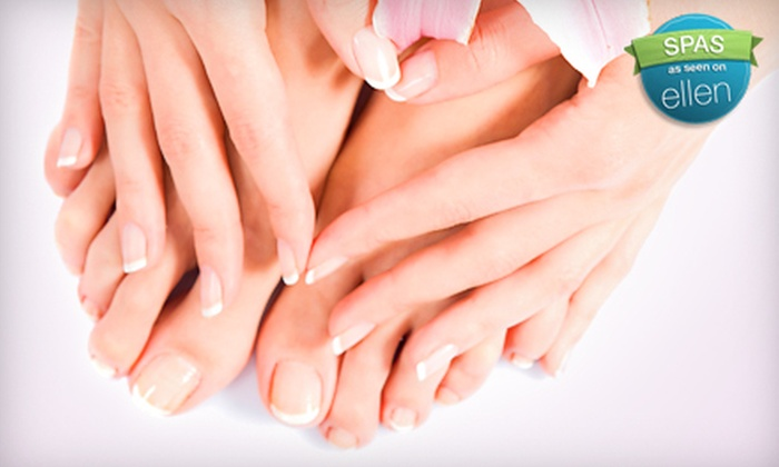 Joseph's Coiffures - Vaughan: $35 for a Pedicure and Shellac Manicure at Joseph's Coiffures in Vaughan ($73.45 Value)