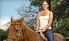 Rocking S Farm Riding Academy - Helena: $45 for Two One-Hour Private Horseback-Riding Lessons at Rocking S Farm Riding Academy in Helena ($90 Value)