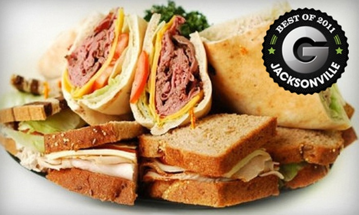 Clara's Tidbits - San Marco: Sandwich or Salad Lunch with Beverages for Two or Four at Clara's Tidbits (Up to 51% Off)