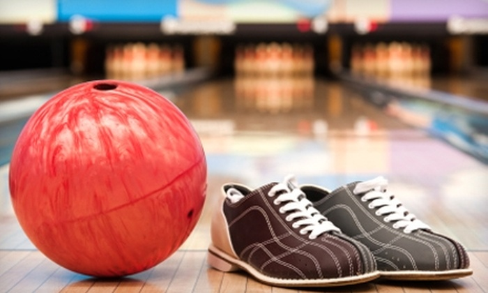 Thunderbird Lanes - Multiple Locations: $7 for Two Games Plus Shoe Rental at Thunderbird Lanes (Up to $12.88 Value)