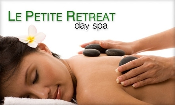 Le Petite Retreat day spa - Mid-Wilshire: $79 for a Jade Stone Massage & Ionic Detoxifying Footbath at Le Petite Retreat Day Spa ($235 Value)