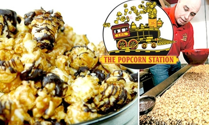 The Popcorn Station - Louisville: $6 for $12 Worth of Gourmet Popcorn at The Popcorn Station