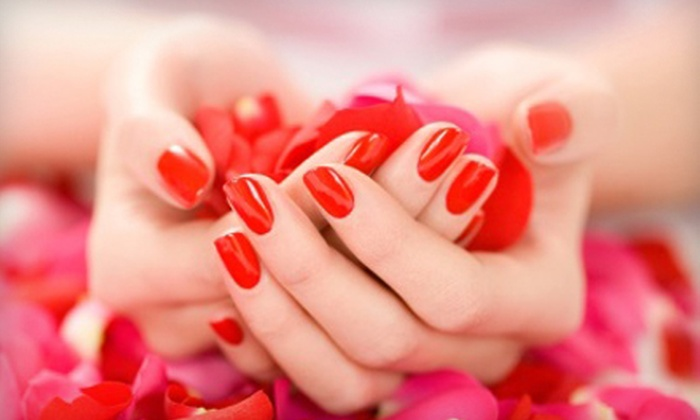 The Nail Forum - City Center: $29 for a Raspberry & Pomegranate Mani-Pedi with a Paraffin-Heel Treatment at The Nail Forum in Glendale ($75 Value)