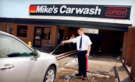 Mike's Carwash - Mike's Carwash in
