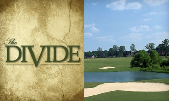 The Divide Golf Club - Stallings: $31 for 18 Holes of Golf at The Divide Golf Club (Up to $62 Value)