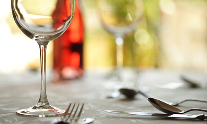 Blumenhof Winery - Dutzow: $60 for a Four-Course Meal for Two and Two Wine Glasses at Blumenhof Winery in Dutzow on August 19 ($120 Value)