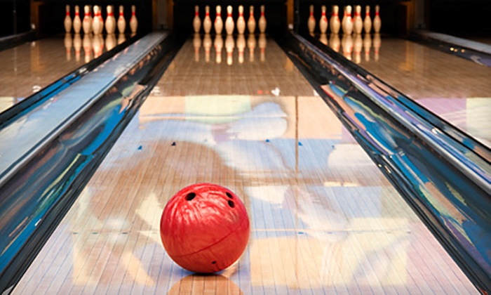 Fat Cats - Multiple Locations: $25 for 90 Minutes of Bowling for Four, Including Shoe Rental and One Pitcher of Soda at Fat Cats (Up to $53.88 Value)
