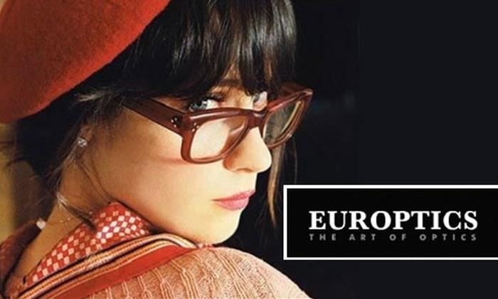 Europtics - Denver: $25 for $75 Worth of Designer Eyewear at Europtics