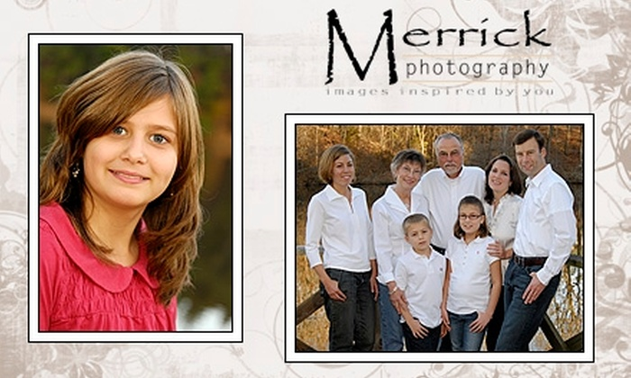 Merrick Photography - Oakland: $59 for a Complete Package Including Portraits, Facebook, and Photo Slideshow from Merrick Photography ($404 Value)