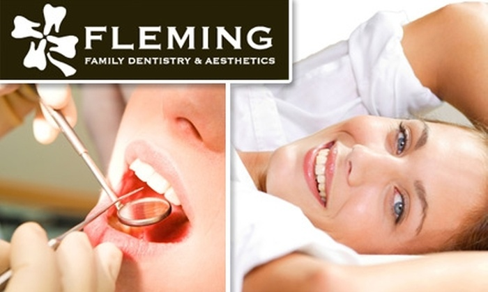 Fleming Family Dentistry & Aesthetics - Westfield: $39 for a Comprehensive Exam, Cleaning, and X-Rays at Fleming Family Dentistry and Aesthetics