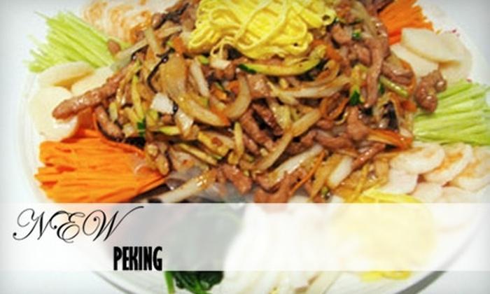 New Peking Chinese Restaurant - Old Westport: $7 for $15 of Chinese Cuisine at New Peking Chinese Restaurant