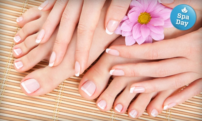 Simply Esthetics - Montrose: $44 for a Spa Manicure and Pedicure at Simply Esthetics