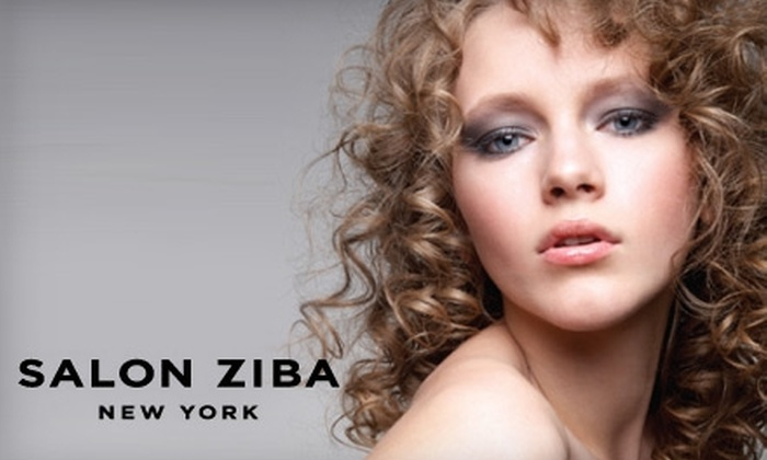 Salon Ziba - Clinton: $45 for a Haircut and a Moroccan Oil Treatment at Salon Ziba ($90 Value)