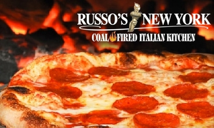 Russo's New York Pizzeria - Richardson: $15 for $30 Worth of Fresh Pizza and Italian Fare After 5 p.m. or $7 for $15 Worth of Fare Before 5 p.m. at Russo's New York Pizzeria in Richardson