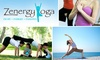 Zenergy Yoga - North Scottsdale: Unlimited One-Month Pass for Classes at Zenergy Yoga