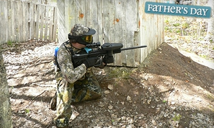 Storm Warning Paintball - New Minas: $25 for Two Bronze Paintball Packages at Storm Warning Paintball in New Minas ($50 Value)