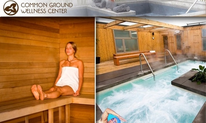 Common Ground Wellness Center - Concordia: $15 for One Hour of Soak and Sauna for Two at Common Ground Wellness Center ($30 Value)