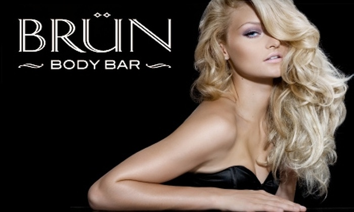 Brun Body Bar - Downtown: $40 for $80 Worth of Salon Services at Brun Body Bar