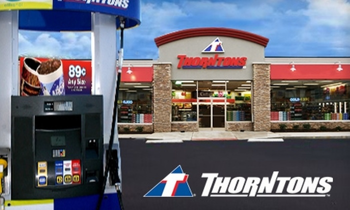 Thorntons - Multiple Locations: $10 for $20 Worth of E85 Gasoline at Thorntons