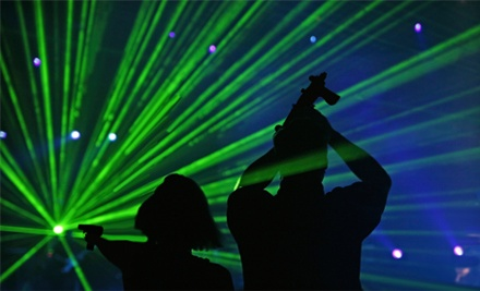 2 Games of Laser Tag for 2 People - Sandy Springs Funhouse in Sandy Springs