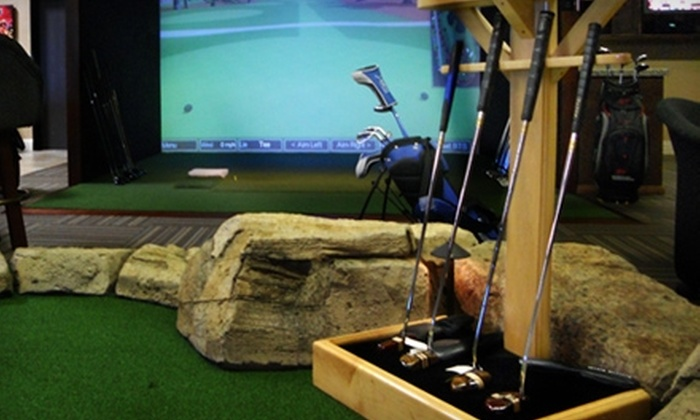 Tee Time Distributing - Orange County: $39 for Two Hours of Simulated Golf for Two People at Tee Time Distributing in Laguna Niguel ($80 Value)