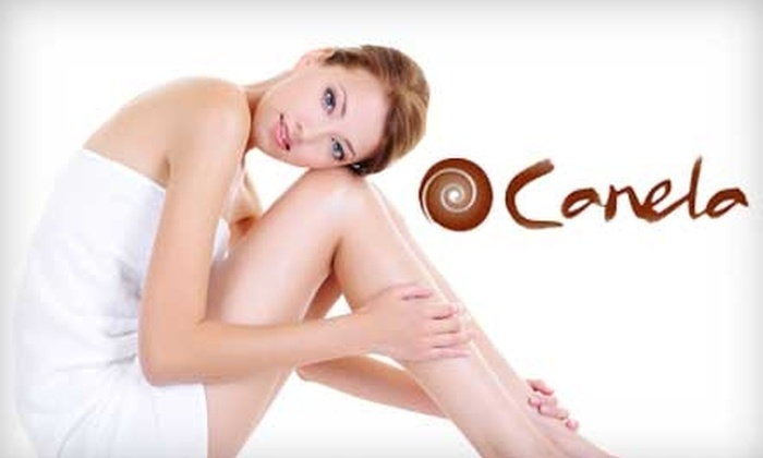 Canela Salon and Spa - Parkchester: $99 for Three Laser Hair-Removal Treatments for One Area at Canela Salon and Spa in Parkchester (Up to $900 Value)