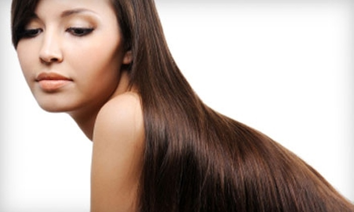 Salon 360 - Elmhurst: Smoothing and Strengthening Hair Treatments at Salon 360 in Elmhurst. Two Options Available.