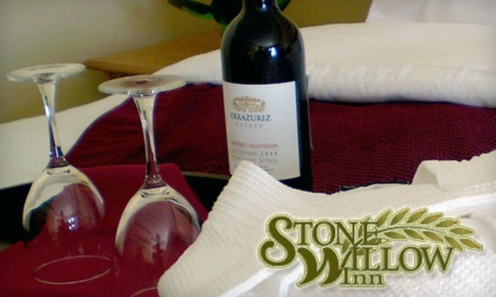 Stone Willow Inn - St. Mary's: $89 for a One-Night Stay in a Premium Room and $20 Toward Any Meal at the Stone Willow Inn (Up to $188.37 Value)