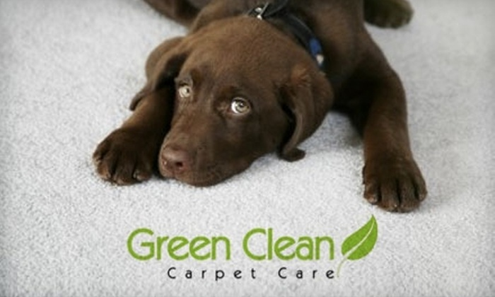 Green Clean Carpet Care - Houston: $59 for a Carpet Cleaning of Three Rooms from Green Clean Carpet Care (Up to $270 Value)