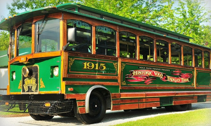 Volo Auto Museum - Volo: Haunted Trolley Tour and Museum Admission for Two, Four, Six, or Eight to the Volo Auto Museum