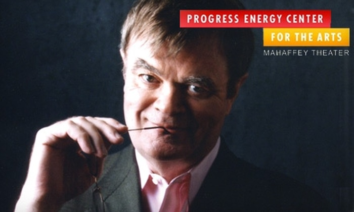 """Mahaffey Theater - Downtown St. Petersburg: Tickets to """"An Evening with Garrison Keillor"""" on Thursday, Nov. 18 at 8 p.m. Choose from Two Seating Sections."""