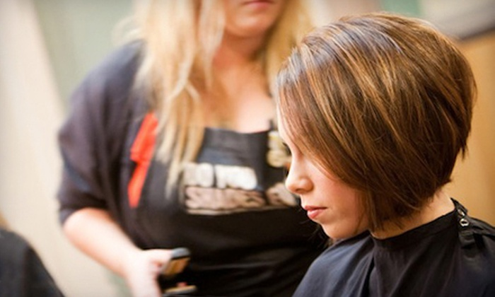 James Craig Haircolor & Design - James Craig Salon: Haircut and Kérastase Treatment with Optional Tint and Partial Highlights at James Craig Haircolor & Design in Saratoga (51% Off)