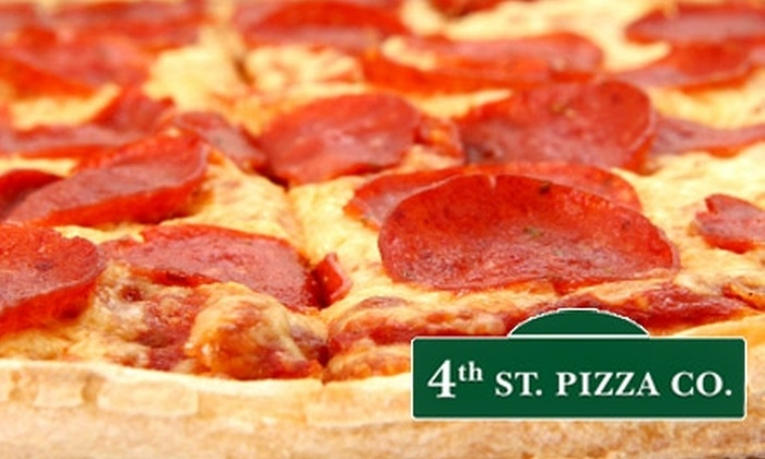 4th Steet Pizza Co. - San Jose: $10 for $20 Worth of Pizza and More at 4th Street Pizza Co.