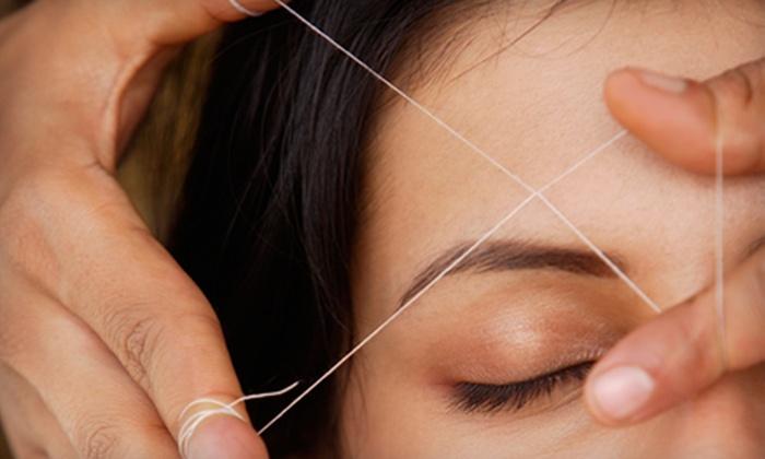 Beauty Affairs Salon - Merrick: 5 or 10 Eyebrow-Threading Sessions at Beauty Affairs Salon in Merrick (Up to 59% Off)