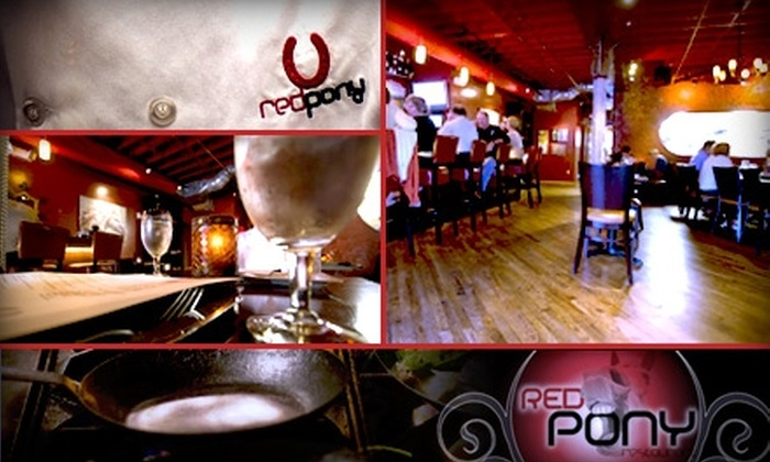 Red Pony Restaurant - Franklin: $25 for $50 Worth of Fine Dining & Drinks at Red Pony Restaurant
