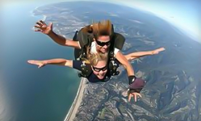 Sportations - Watsonville: $145 for a Single Skydiving Session from Sportations ($219 Value)