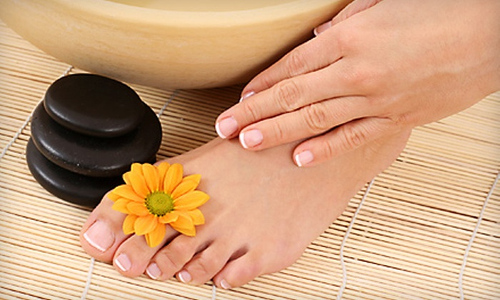 4D Nails - Mirador Estates: $25 for Manicure and a Deluxe Pedicure at 4D Nails in Gilbert ($51 Value)