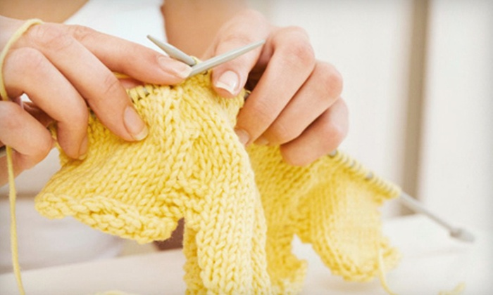 Shepherd's Choice - Anoka: $10 Worth of Yarn, Knitting Classes, and Soap