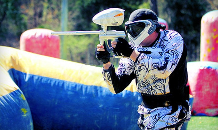 Xtreme Kombat - Durham: All-Day Paintballing Package with Equipment Rental, Ammo, and Unlimited Air Refills or Two-Month VIP Membership at Xtreme Kombat in Durham (Up to 64% Off)