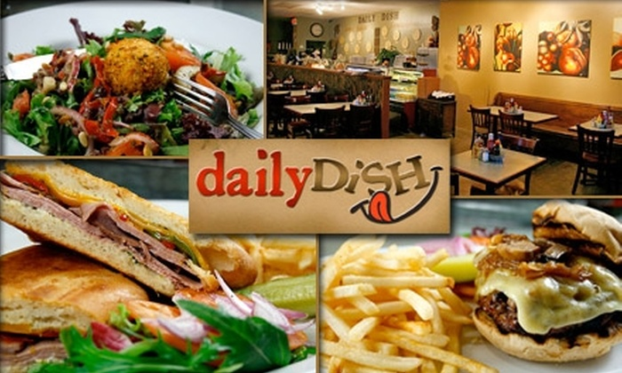 Daily Dish Cafe & Catering - 8: $15 for $30 Worth of Sandwiches, Salads, Brunch, Catering, and More at Daily Dish