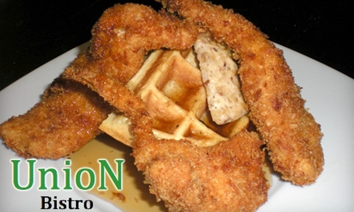 Union Bistro - Little Rock: $12 for $25 Worth of Eclectic Cuisine at Union Bistro