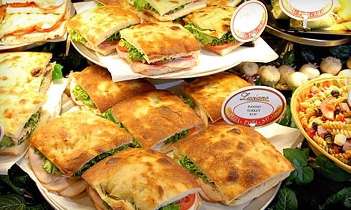Luciano Neighborhood Pizzeria - San Antonio: $10 for $20 Worth of Italian Fare at Luciano Neighborhood Pizzeria