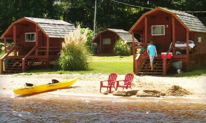 Lost Bay RV Resort - Elberta: $29 for $59.99 Worth of Camping or Lodging at Lost Bay RV Resort in Lillian