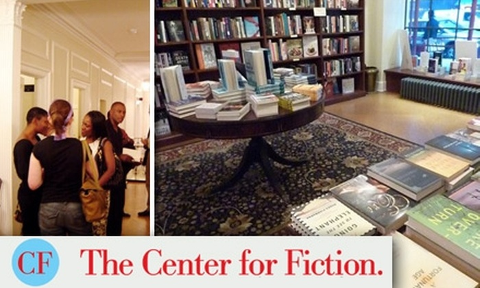 The Mercantile Library Center for Fiction - Midtown Center: $30 for a One-Year Membership and $10 Gift Certificate at The Center for Fiction ($135 Value)
