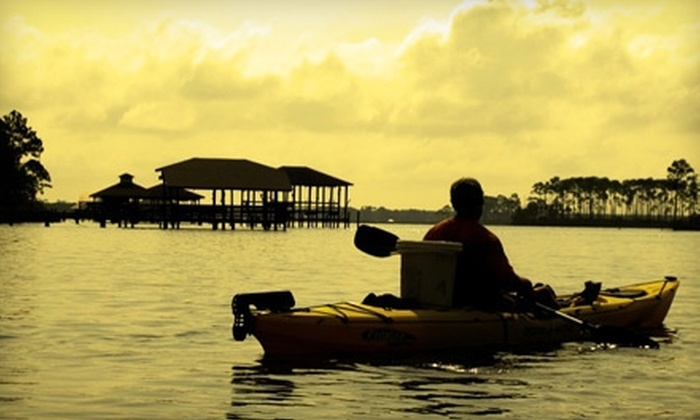 Alabama Kayak Adventures - Mobile / Baldwin County: $20 for an Ecological Kayak Tour from Alabama Kayak Adventures ($40 Value)