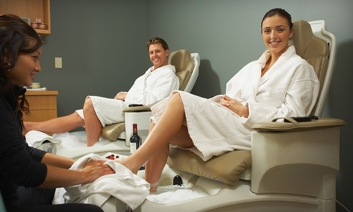 Sense of Beauty Spa and Salon - Niagara Falls: Handyman's Manicure or Unisex Heavy Duty Pedicure at Sense of Beauty Spa and Salon