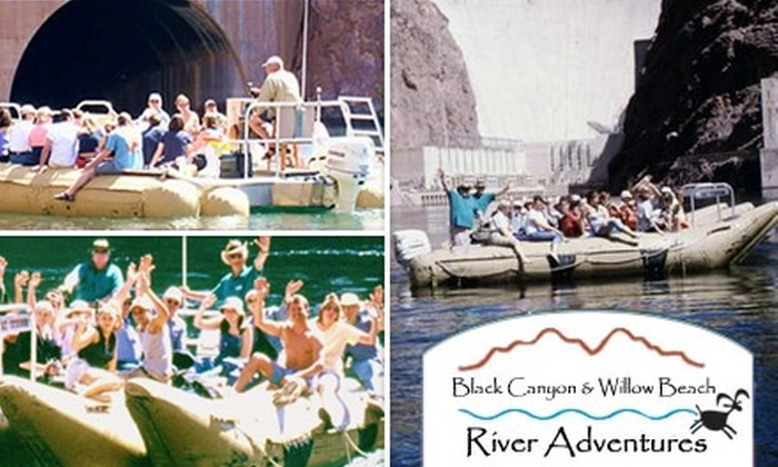 Black Canyon River Adventures - Boulder City: $15 for the Hoover Dam Postcard Raft Tour from Black Canyon River Adventures ($33 Value)