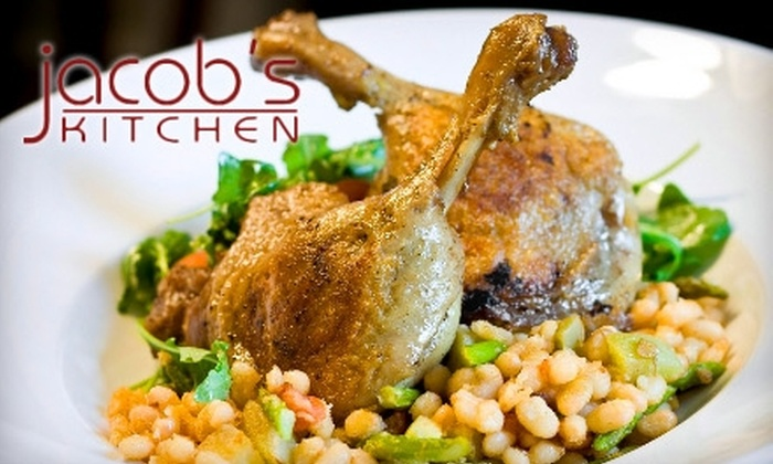 Jacob's Kitchen - Mount Pleasant: $15 for $30 Worth of New South Dinner Cuisine at Jacob's Kitchen in Mount Pleasant (or $5 for $10 Worth of Lunch)