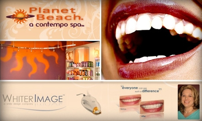 Planet Beach Contempo & Tanning Spa - West Whiteland: $99 for Two Teeth Whitenings at Planet Beach