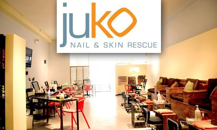 Juko Nail & Skin Rescue - Wicker Park: $50 for $100 Worth of Waxing and Tinting Services at Juko Nail & Skin Rescue